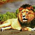 Lion Resting by Gary De Capua