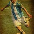 Lionel Andres Messi Argentine Footballer Fc Barcelona  by Lee Dos Santos