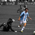 Lionel Messi The King by Lee Dos Santos