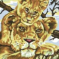Lioness And Son by William Mutua