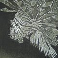 Lionfish With Forks by Elizabeth Comay