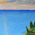 Lions Den Lake Michigan by Richard Wandell