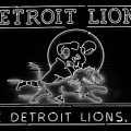 Lions Football by Frozen in Time Fine Art Photography