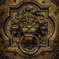 Lion's Head Doorknob by Jaroslaw Blaminsky