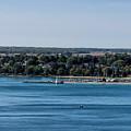 Lions Head Harbor, Ontario by Les Palenik