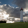Lion's Lighthouse For Sight - 2 by Ed Clark