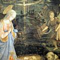 Lippi  Fra Filippo Painting Year1463 by Munir Alawi