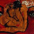 Lipstick Portrait by Erika Brown
