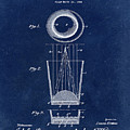 Liquershot Glass Patent 1925 Blue by Bill Cannon
