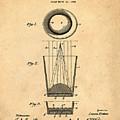 Liquershot Glass Patent 1925 Sepia by Bill Cannon
