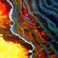 Liquid Abstract Fifteen by Richard Rochkovsky