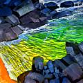Liquid Abstract Eleven by Richard Rochkovsky