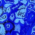 Liquid Blue Dream - V1vhkf100 by Keith Elliott