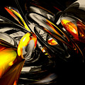 Liquid Chaos Abstract by Alexander Butler