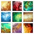Liquid Color I By Madart by Megan Duncanson