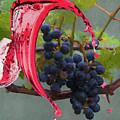 Liquid Grape Spill by Dan Friend