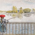 Lisbeth Angling. From A Home By Carl Larsson by Carl Larsson