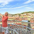 Lisbon Aerial Enjoying by Benny Marty