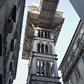 Lisbon City Elevator by Carl Purcell