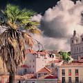 Lisbon Cityscape 4 by Claude LeTien