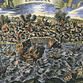Lisbon Earthquake, 1755 by Granger
