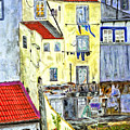Lisbon Home Painting by Timothy Hacker