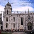 Lisbon Jeronimo Monastery IIi Portugal by John Shiron