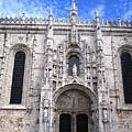 Lisbon Jeronimo Monastery Iv Portugal by John Shiron