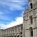 Lisbon Jeronimo Monastery V Portugal by John Shiron