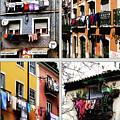 Lisbon Laundry by Lorraine Devon Wilke