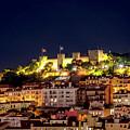 Lisbon Night Background by Benny Marty