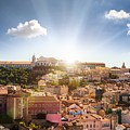 Lisbon Panoramic View To Afama by Leonardo Patrizi