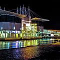 Lisbon - Portugal - Oceanarium At Night by Carlos Alkmin