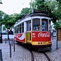 Lisbon Tram by Eric Tressler