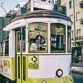 Lisbon Tram by Georgia Fowler