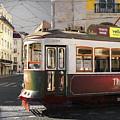 Lisbon Tram, Portugal by Philip Preston