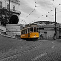 Lisbon Trolley 10c by Andrew Fare