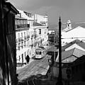 Lisbon Trolley 17b by Andrew Fare