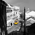 Lisbon Trolley 17c by Andrew Fare