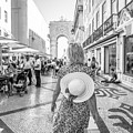 Lisbon Woman Lifestyle by Benny Marty