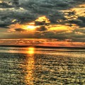L.i.sound Sunset by Terry McCarrick