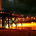 Lit Pier by Stephanie Haertling