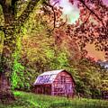Little Barn In The Smokies by Debra and Dave Vanderlaan