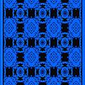 Little Blue Angels Abstract by Debra Lynch