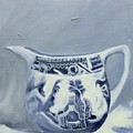 Little Blue Jug by Margie Haslewood