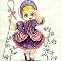 Little Bo Peep by Yvonne Ayoub