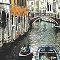 Little Boat In Venice by Ian  MacDonald