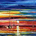 Little Boat by Leonid Afremov