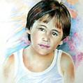 Little Boy From Tahiti by Miki De Goodaboom