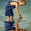 Little Boy Reflection by Natalia Tejera